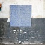 Després vaig veure un cel i una terra nova (2011) Mixed media on canvas - 100x100