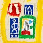 (1999)Estudi per la ciutat cèlica - Mixed media on paper - 54x39