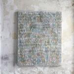 He pres per herència perpètua el teus preceptes (2011) Mixed media on canvas - 100x81