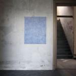 Llavors em va mostrar el riu d'aigua de vida (2011) Mixed media on canvas- 100x81