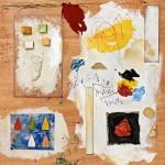 (2011) Pondero, Senyor, les obres de les teves mans - Mixed media on board - 100x100
