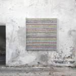 Senyor són rectes les teves sentències (2011) Mixed media on canvas - 120x120