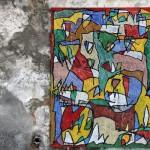 Vora el riu d'aigua de vida (2011) Mixed media on canvas - 130x97