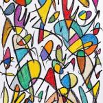 La seva Bonhomia perdurarà per Sempre (2014) - Crayon, Pastels de Cera, Grafit sobre paper 46 x 32,50